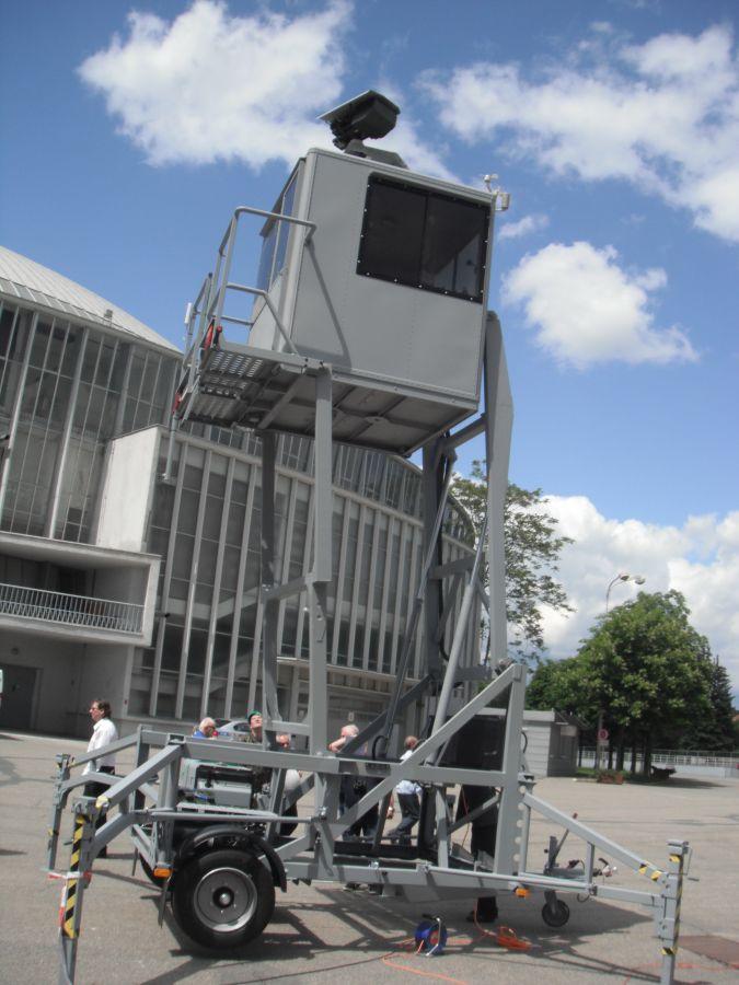 PM 25 Mi MD, věž ARNI technika
